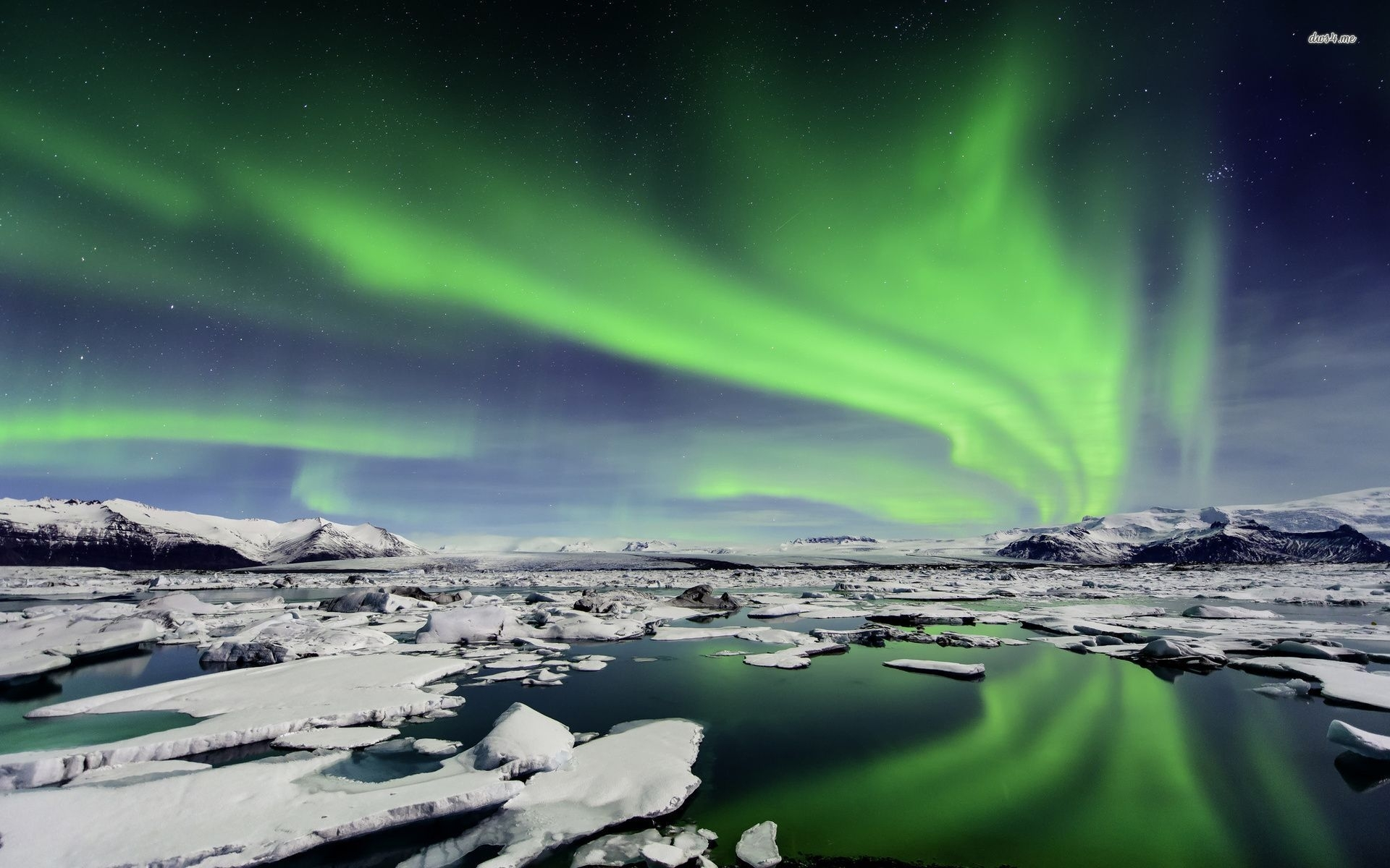 free iceland northern lights wallpaper « long wallpapers