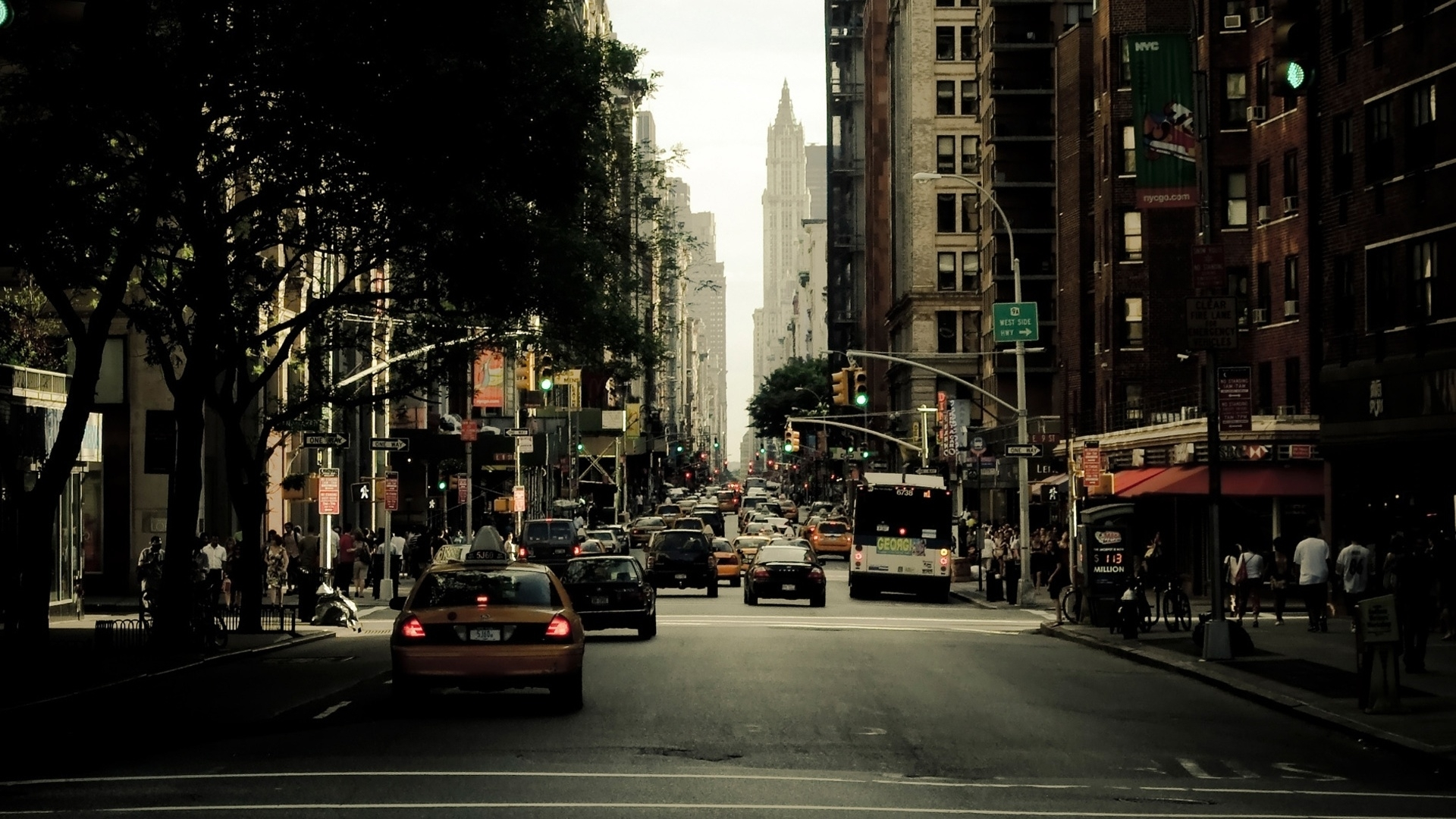 free new york street images « long wallpapers