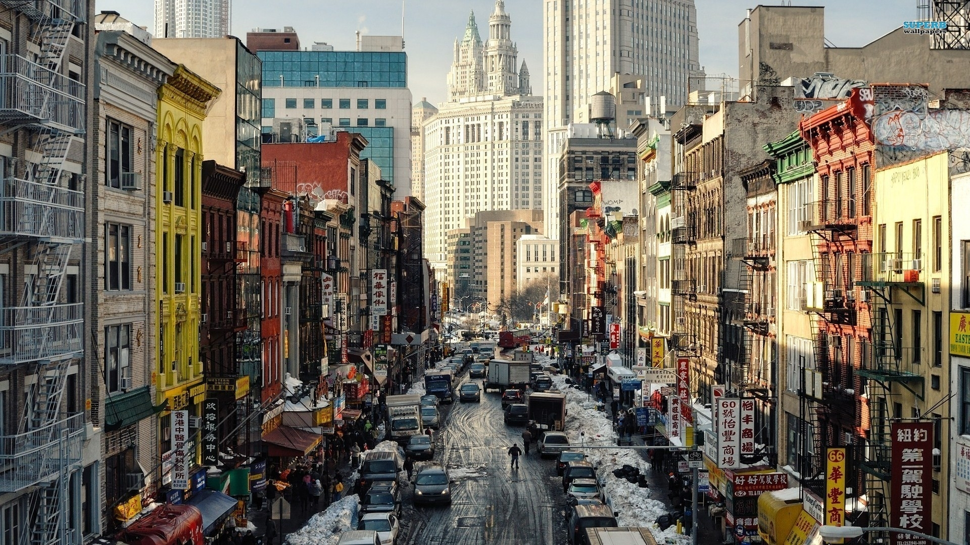 free new york street wallpapers phone « long wallpapers