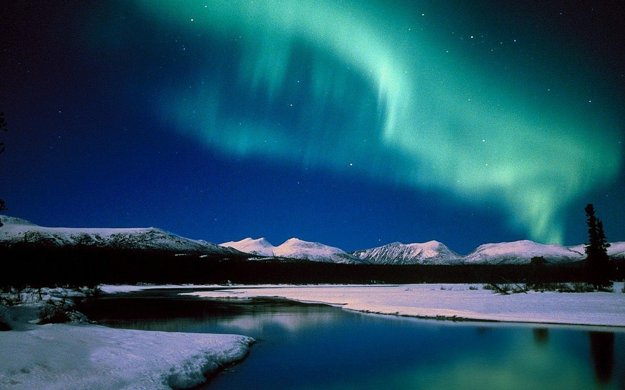 free pc aurora borealis wallpapers hd download