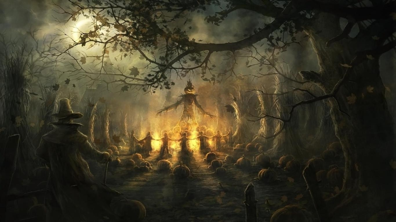 10 Top Scary Halloween Wallpapers Free FULL HD 1920×1080 For PC Desktop