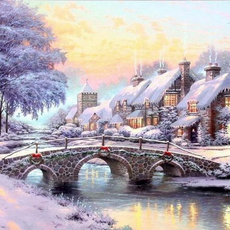10 Best Free Thomas Kinkade Christmas Screensavers FULL HD 1920×1080 For PC Background 2020 free download free thomas kinkade christmas screensaver merry christmas and 800x800