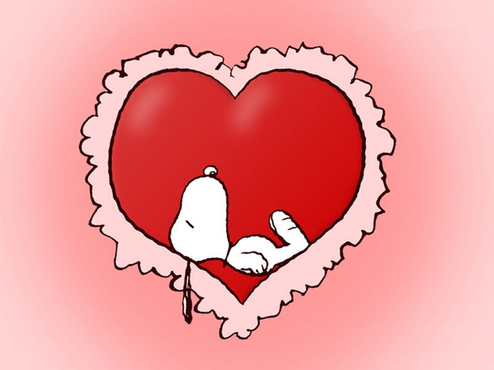 free valentine wallpapers | free snoopy love valentine, computer