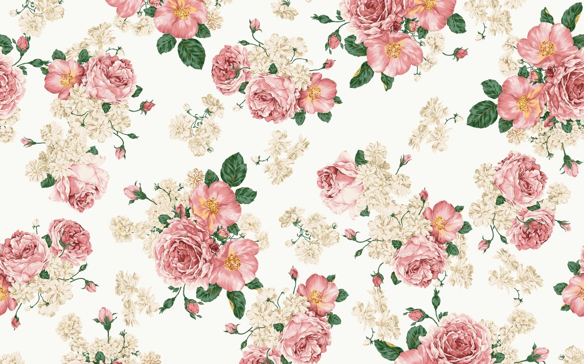 free vintage flower wallpaper high definition « long wallpapers