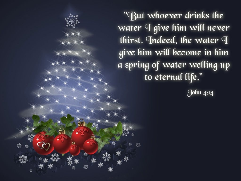 free wallpaper christian john 4:14 | crafty christmas -christ is