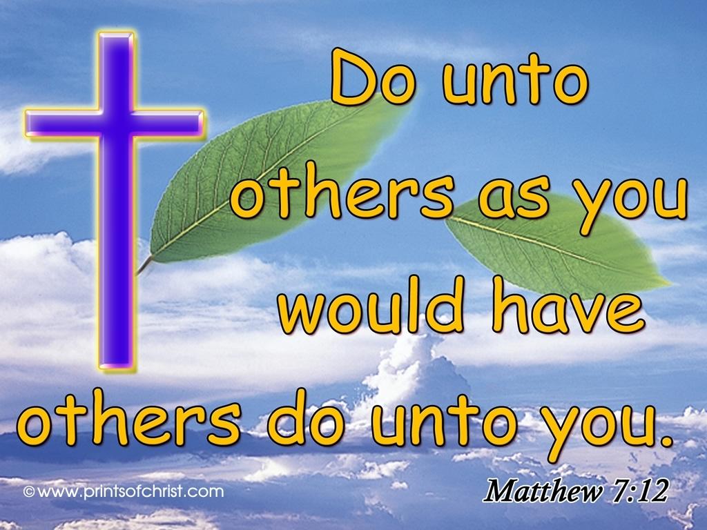 free wallpaper of jesus christ mathew7 12 - top backgrounds & wallpapers