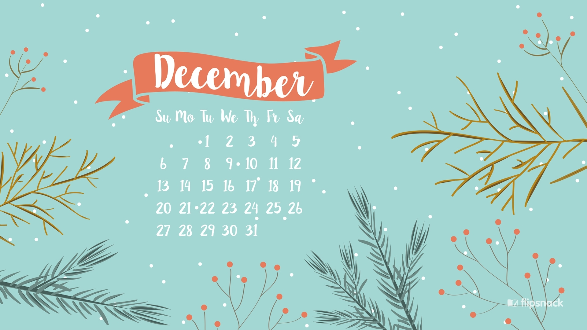 freebies: december 2015 wallpaper calendars