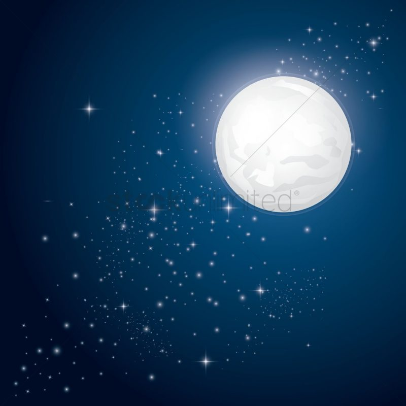 10 Latest Stars And Moon Backgrounds FULL HD 1080p For PC Background 2020 free download full moon and stars background vector image 1519160 stockunlimited 800x800