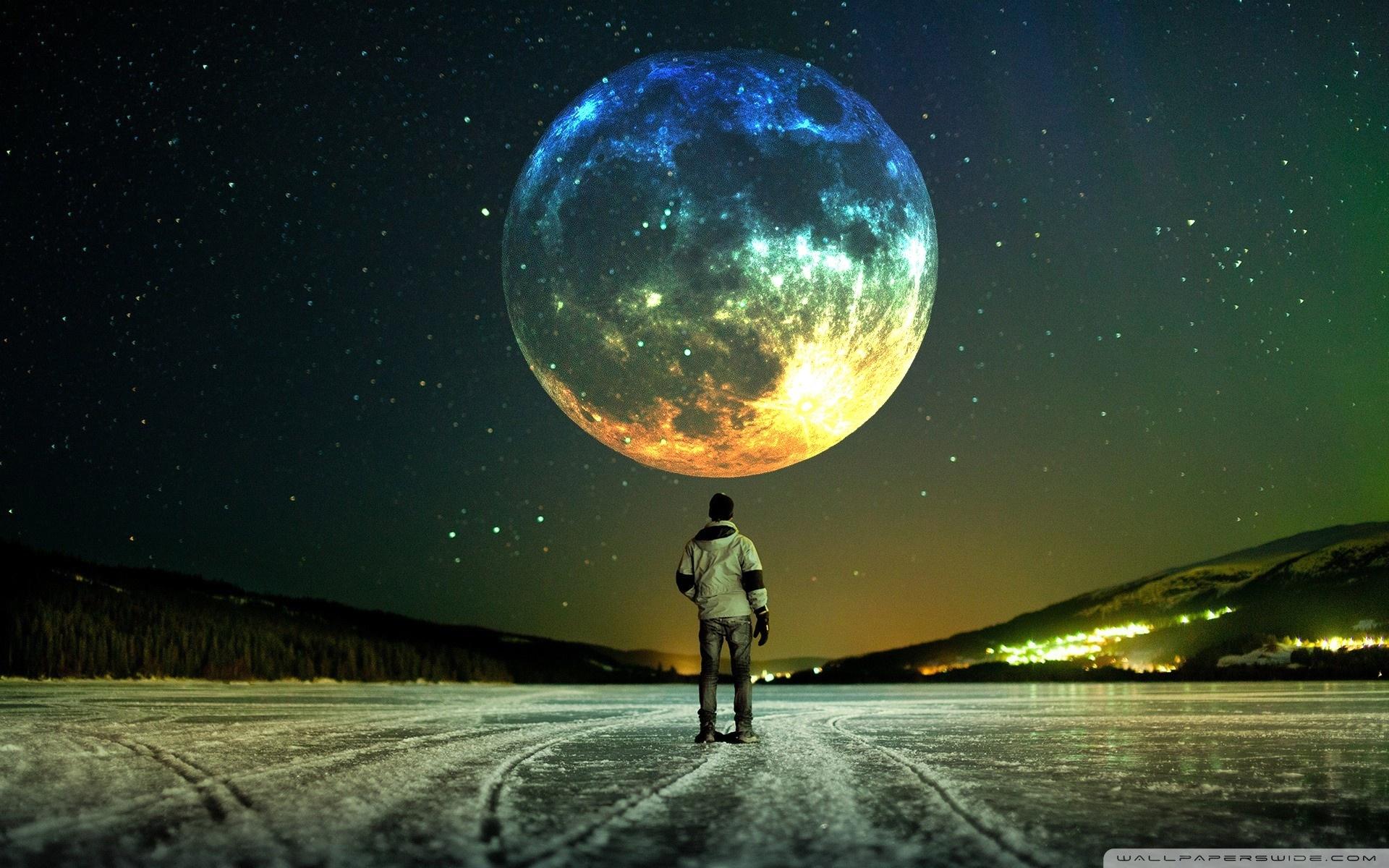 full moon ❤ 4k hd desktop wallpaper for 4k ultra hd tv • tablet