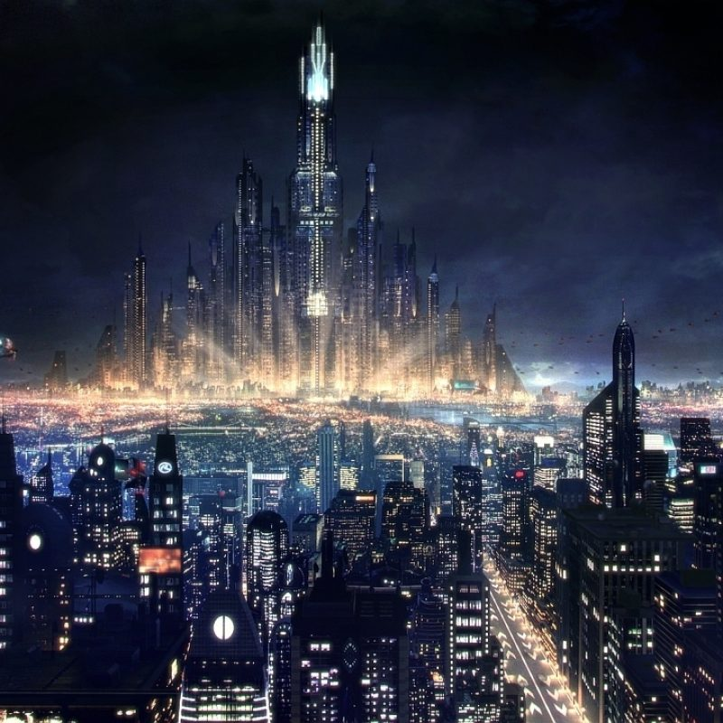 10 Most Popular Future City Wallpaper Night FULL HD 1920x1080 For PC Background 2018