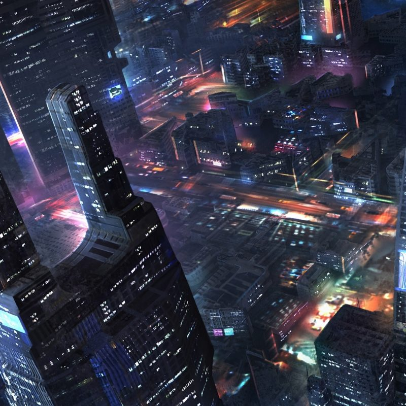10 Most Popular Future City Wallpaper Night FULL HD 1920×1080 For PC Background 2020 free download future city skyscrapers night lights art design wallpaper 800x800