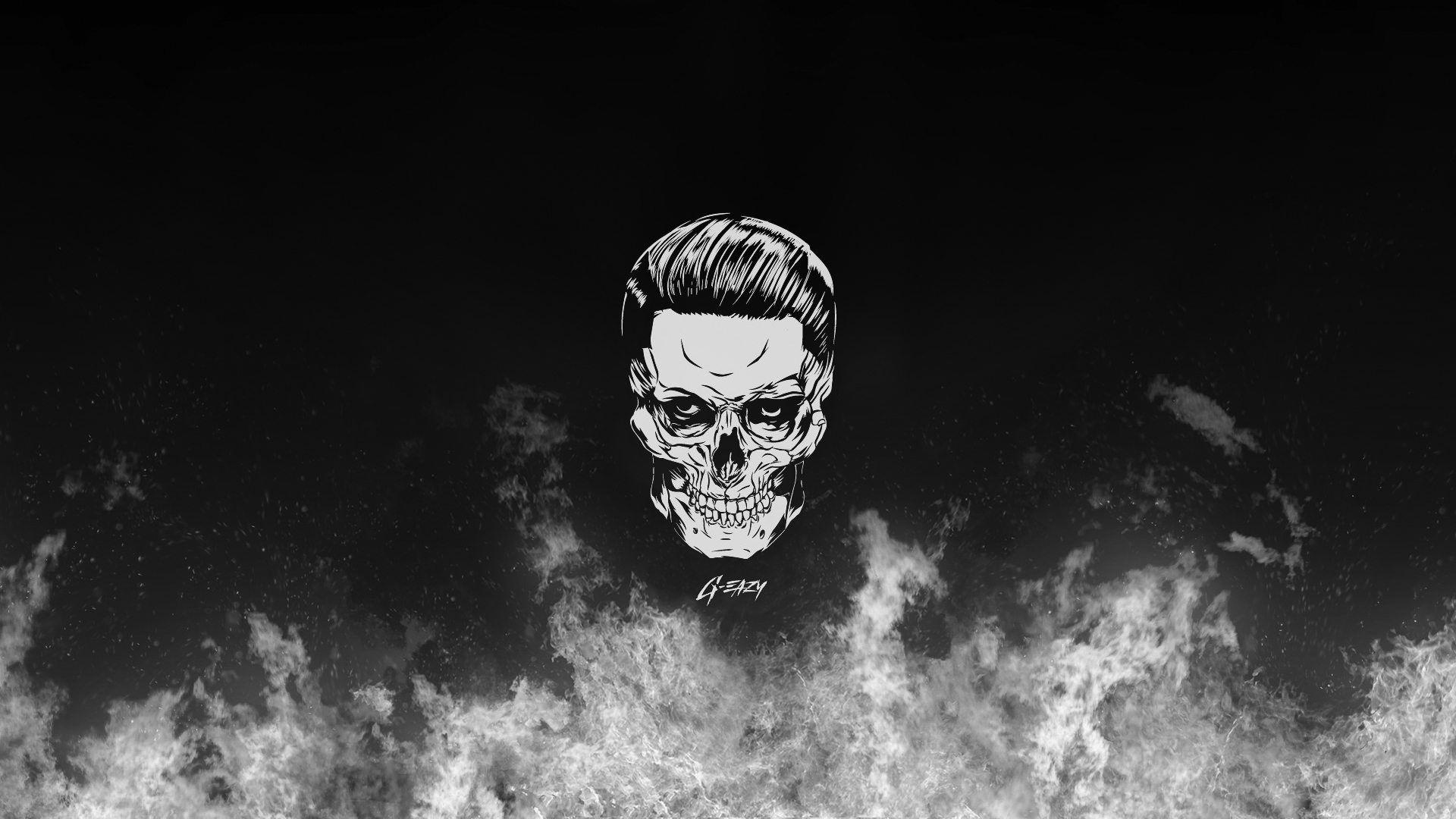 g-eazy skull hd wallpaper from gallsource | g eazy | pinterest