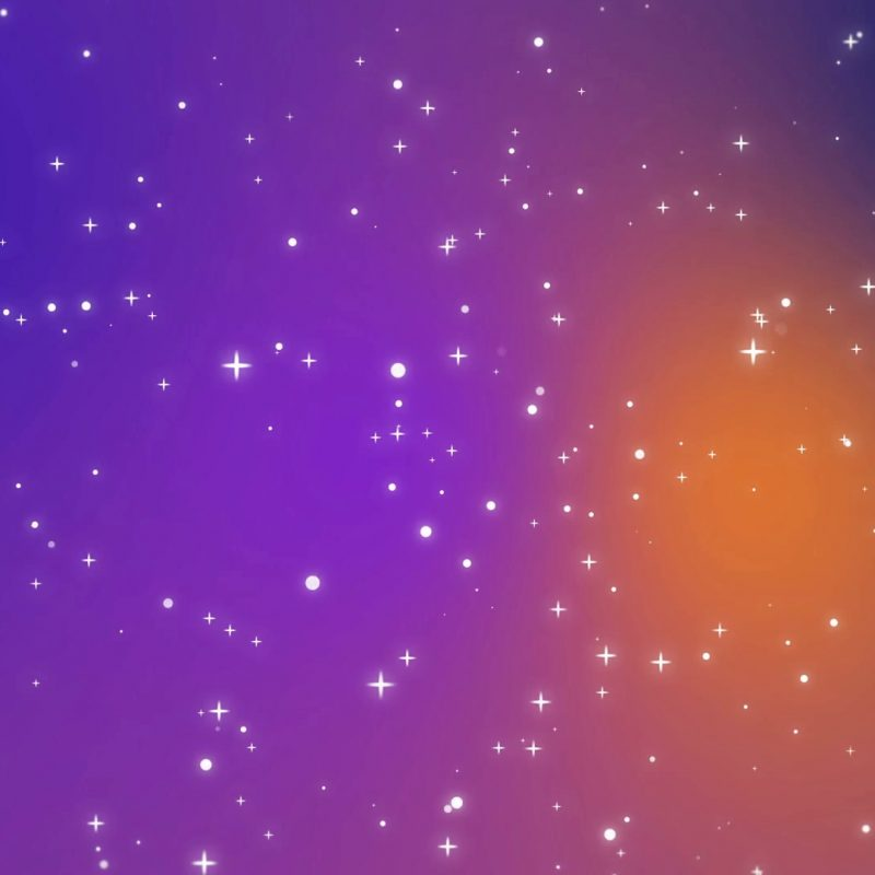 10 Latest Purple And Orange Background FULL HD 1080p For PC Background 2020 free download galaxy animation with shining light particle stars on colorful 800x800