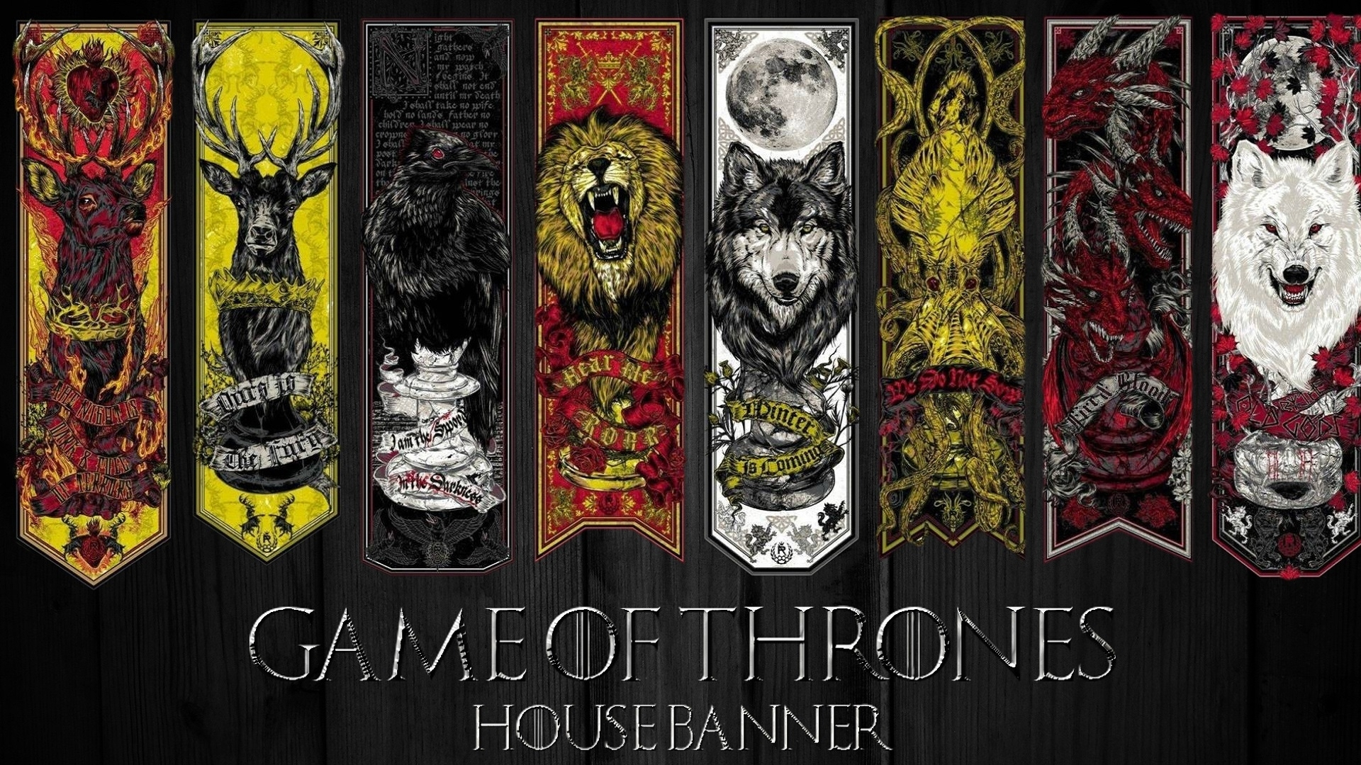 game of thrones house banner wallpaper | cool ui | pinterest | gaming