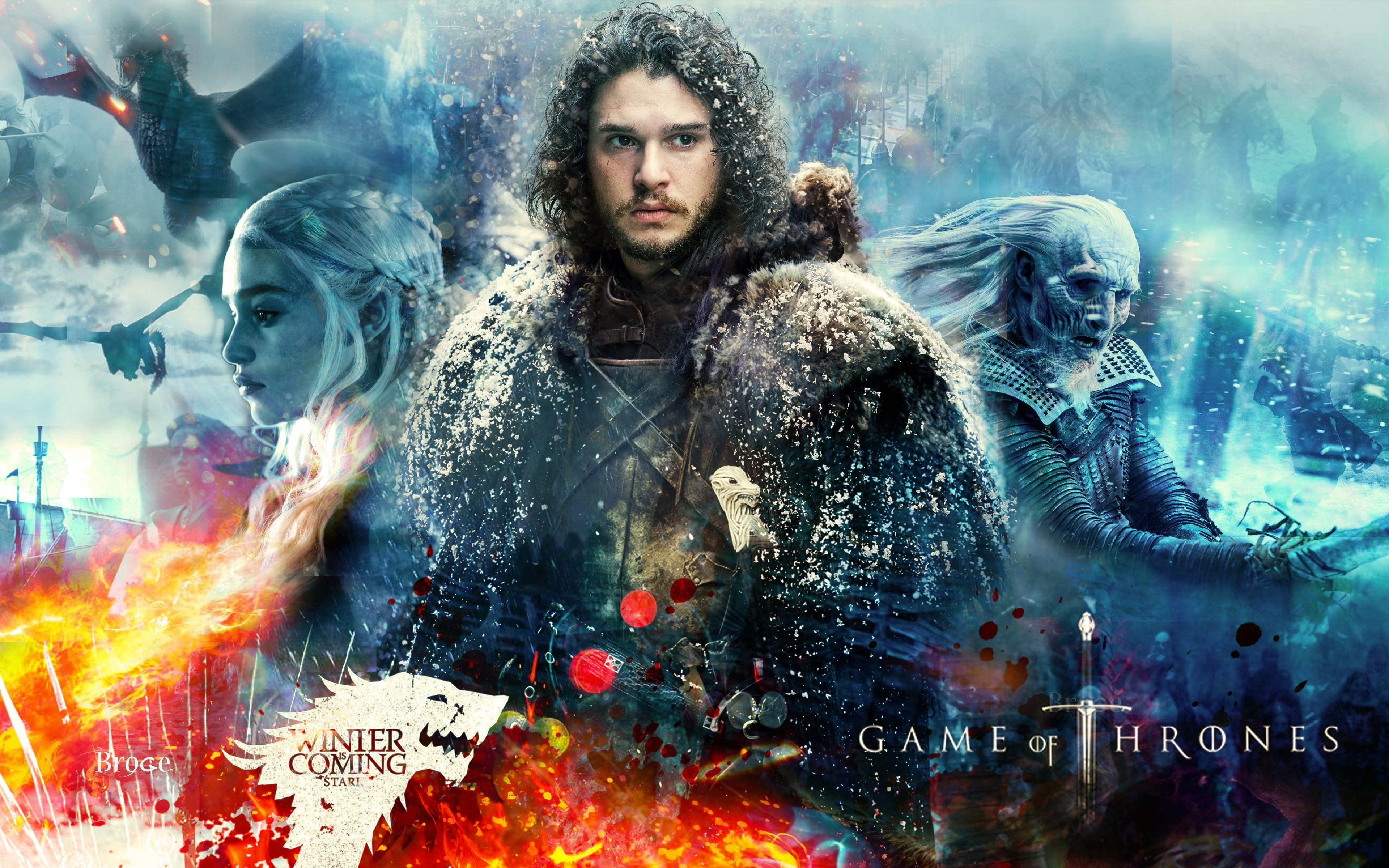 game of thrones season 7 jon snow 4k wallpapers | hd wallpapers | id