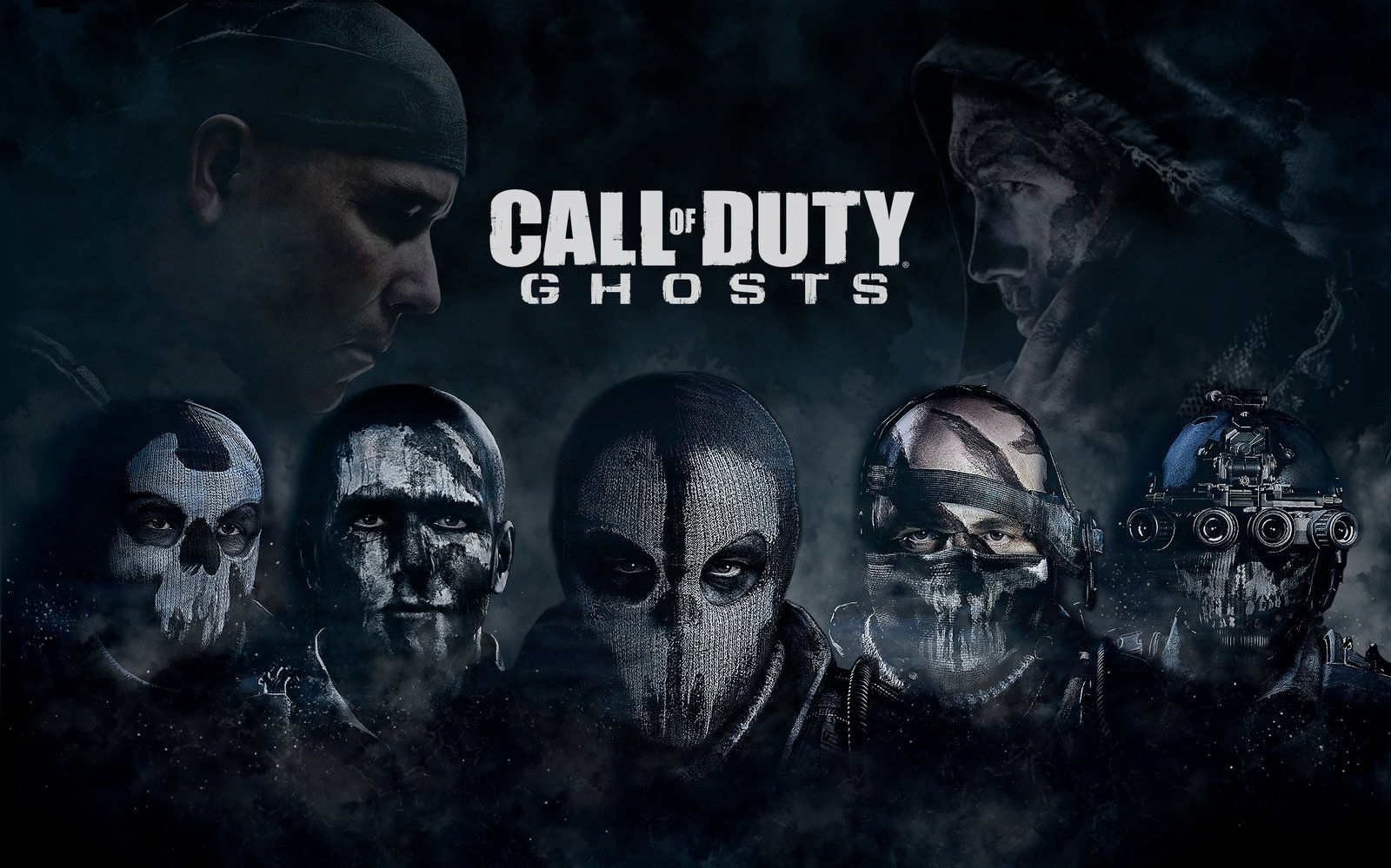 games call of duty ghosts wallpapers (desktop, phone, tablet