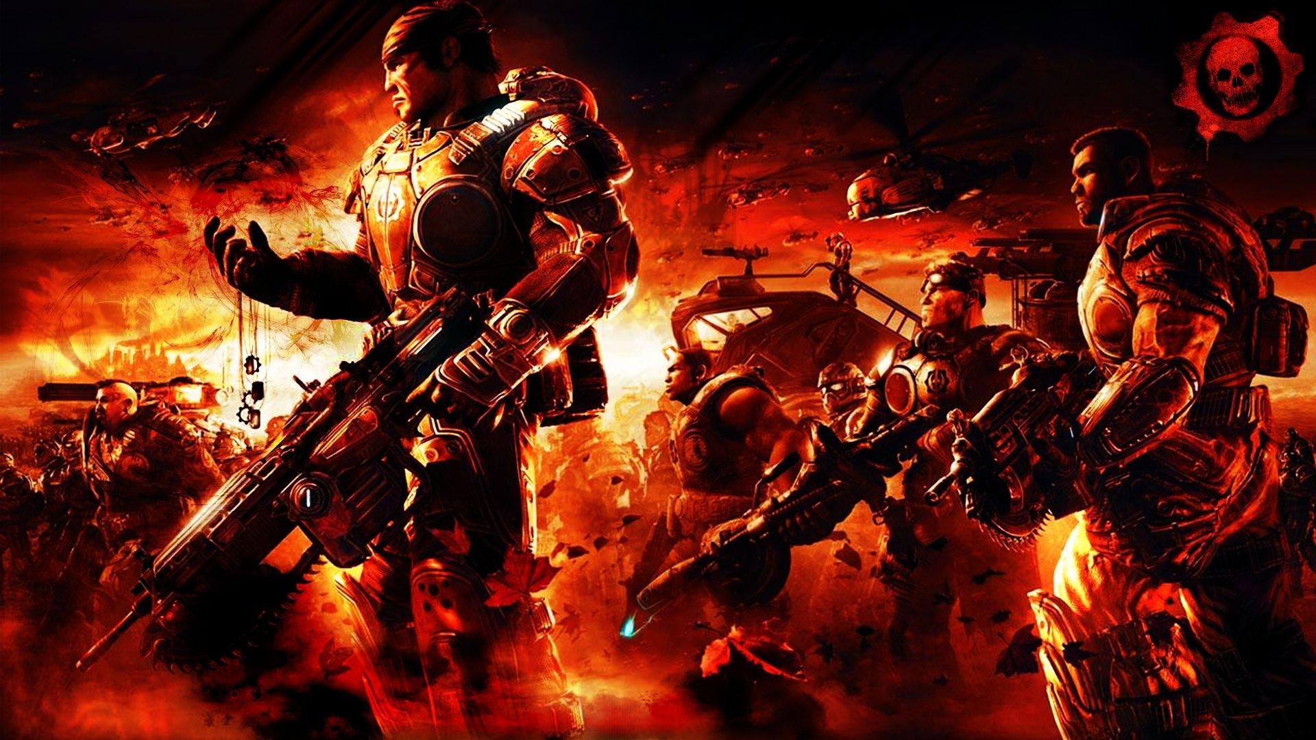 games: gears of war 2, desktop wallpaper nr. 54464stiannius