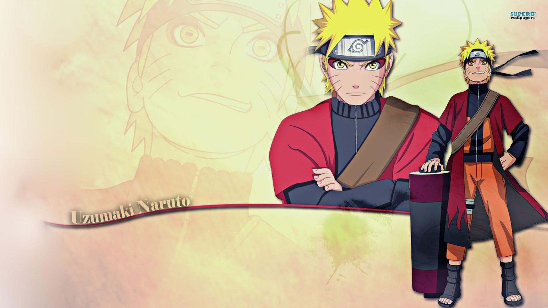 garçons sage mode de naruto uzumaki ninja scroll papier peint