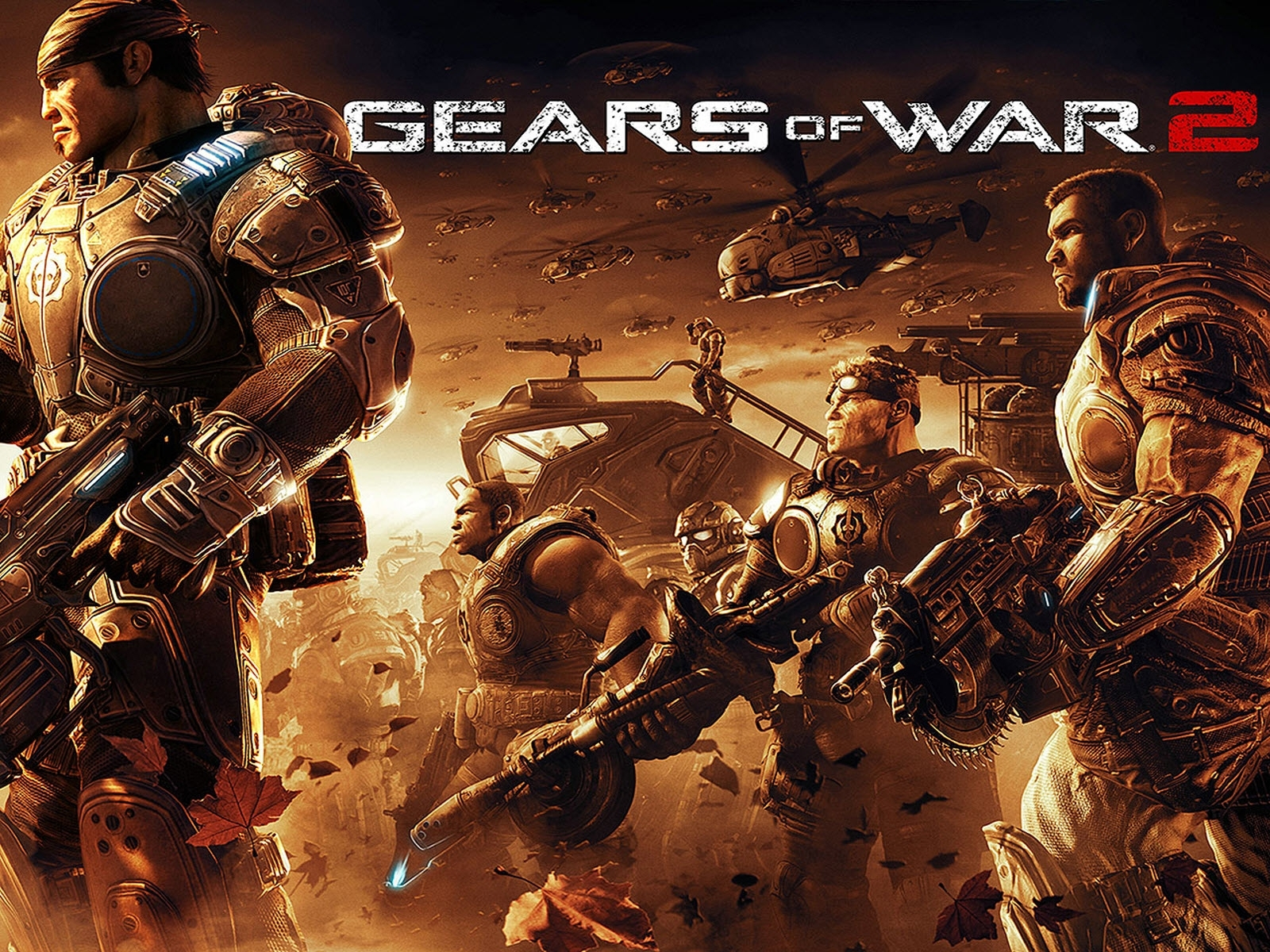 gears of war 2 wallpapers | hd wallpapers | id #8149