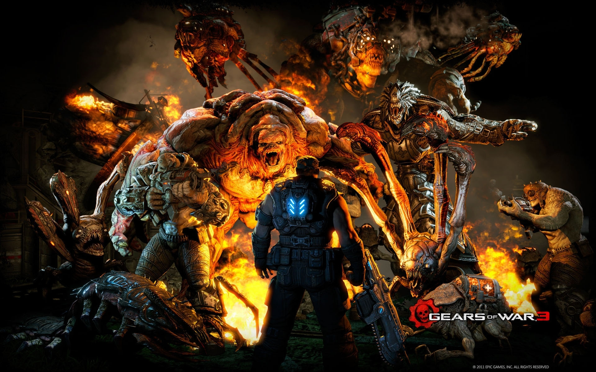gears of war 3 mission wallpapers | hd wallpapers | id #10418