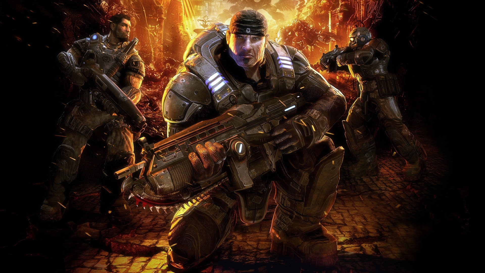 gears of war hd 1080p wallpapers | hd wallpapers | id #8136