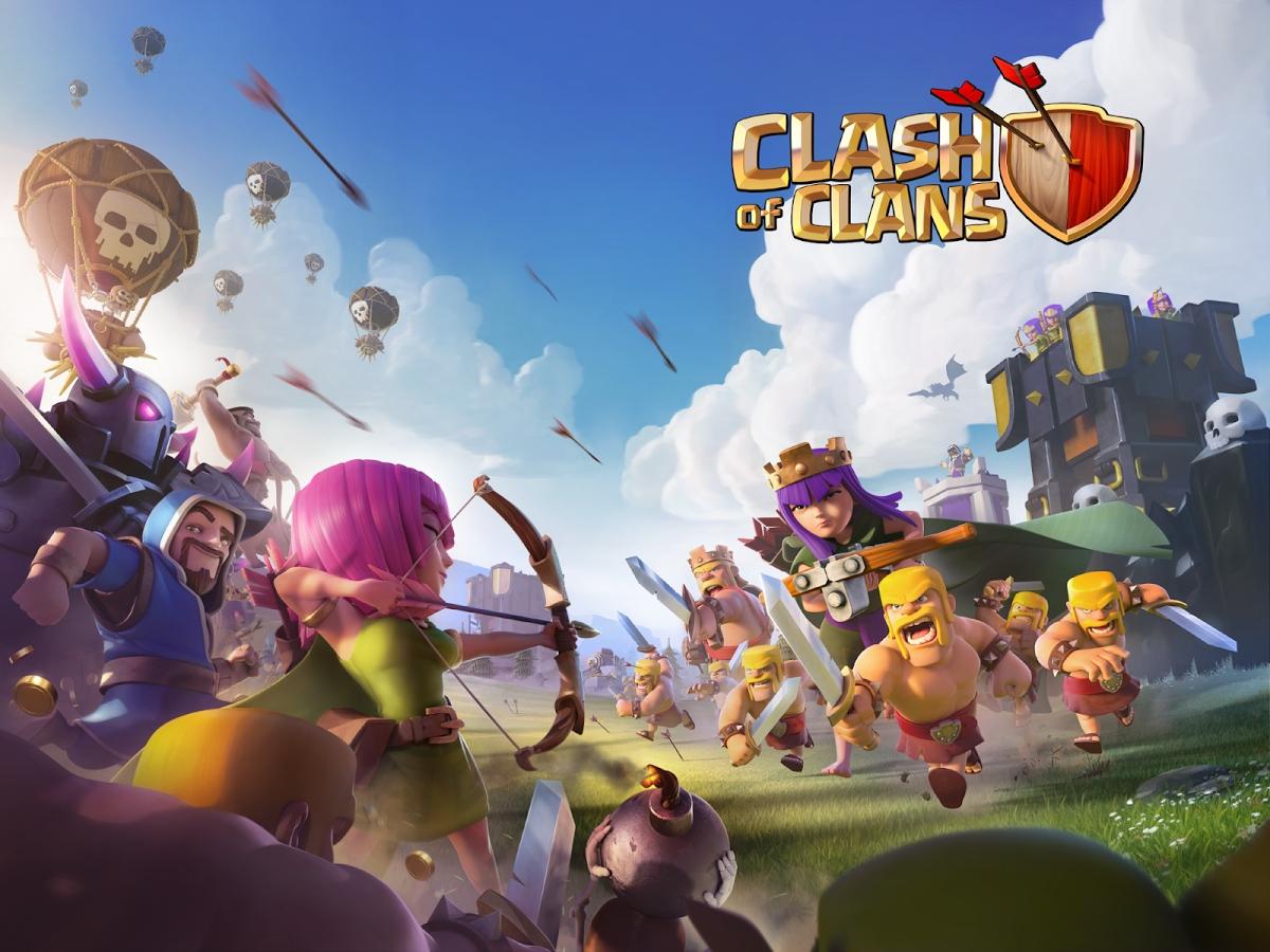 gemmes, or et elixir gratuitement pour votre compte clash of clans