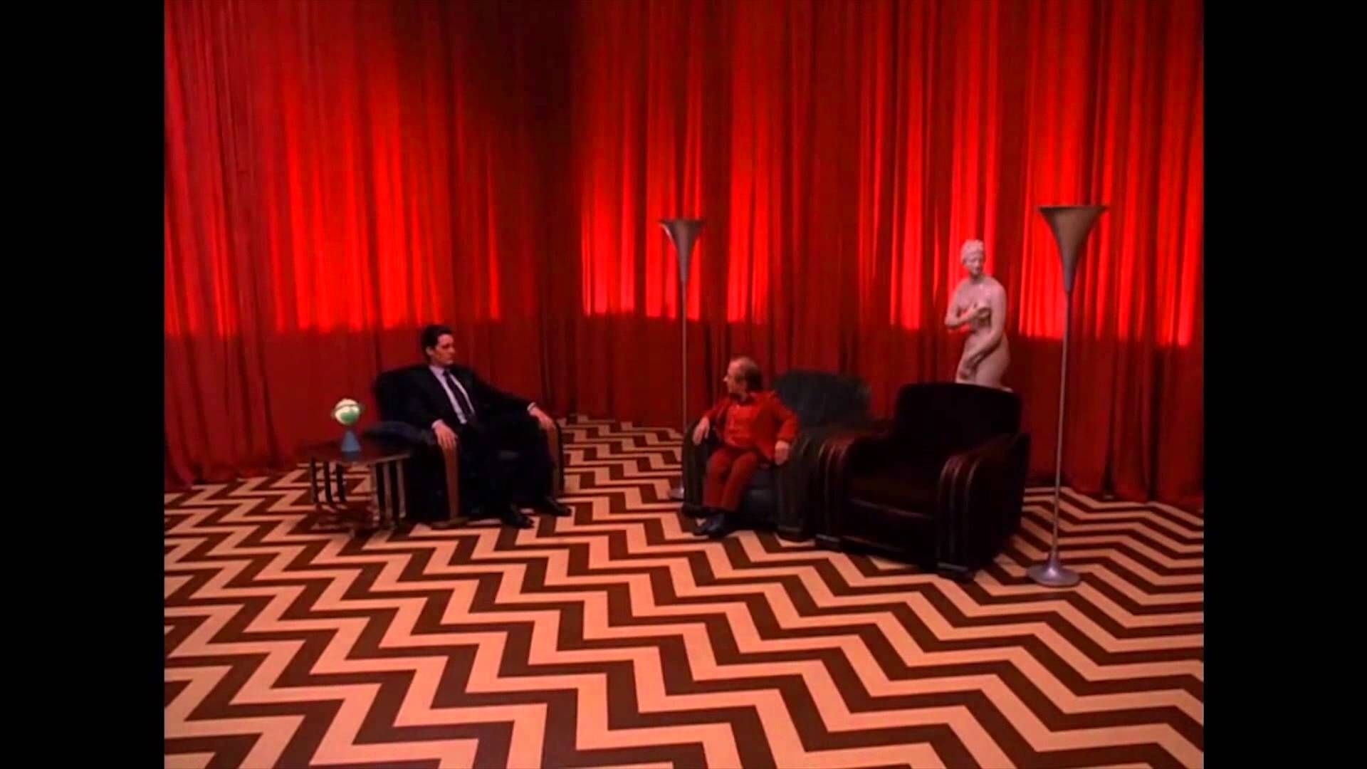 get yourself a genuine creepy dream sequence room from twin peaks