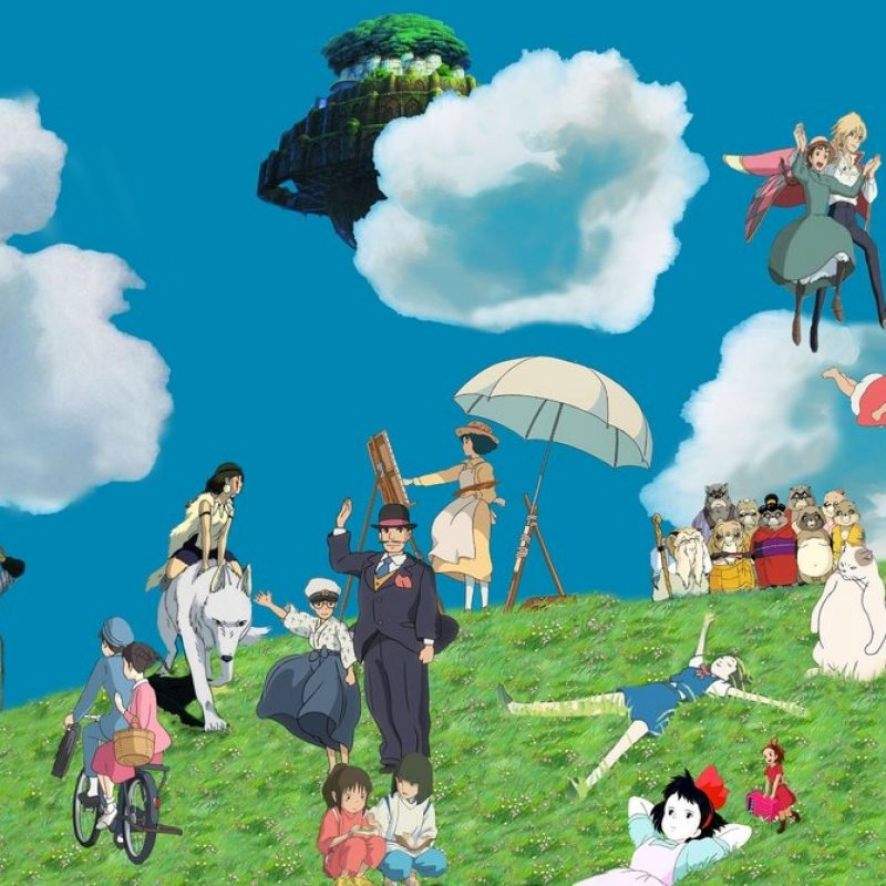 10 Latest Studio Ghibli Laptop Wallpaper FULL HD 1080p For PC Desktop 2018 free download ghibli wallpaper wip 3dbenjamin on deviantart 800x800