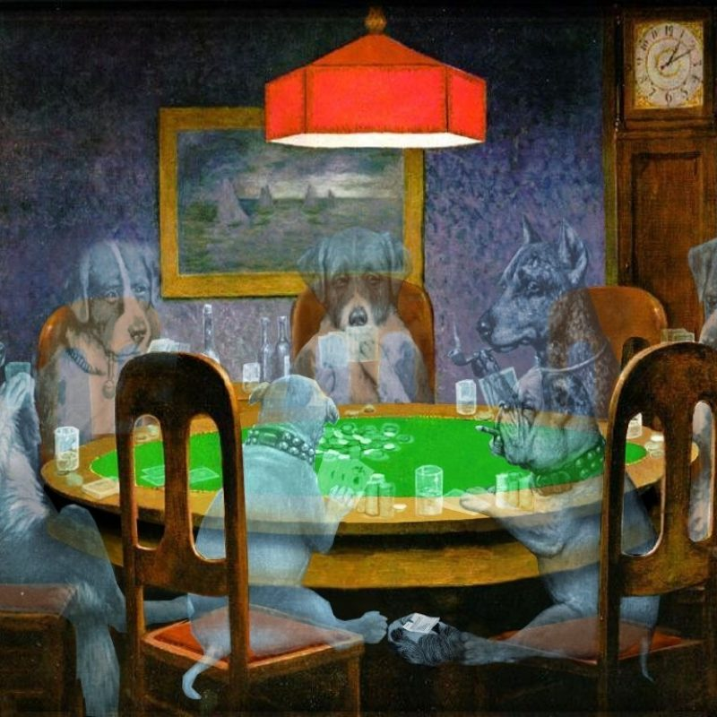 10 Top Dogs Playing Poker Wallpaper FULL HD 1920×1080 For PC Desktop 2018 free download ghost dogs playing poker ghosting any image in a scene is the same 800x800