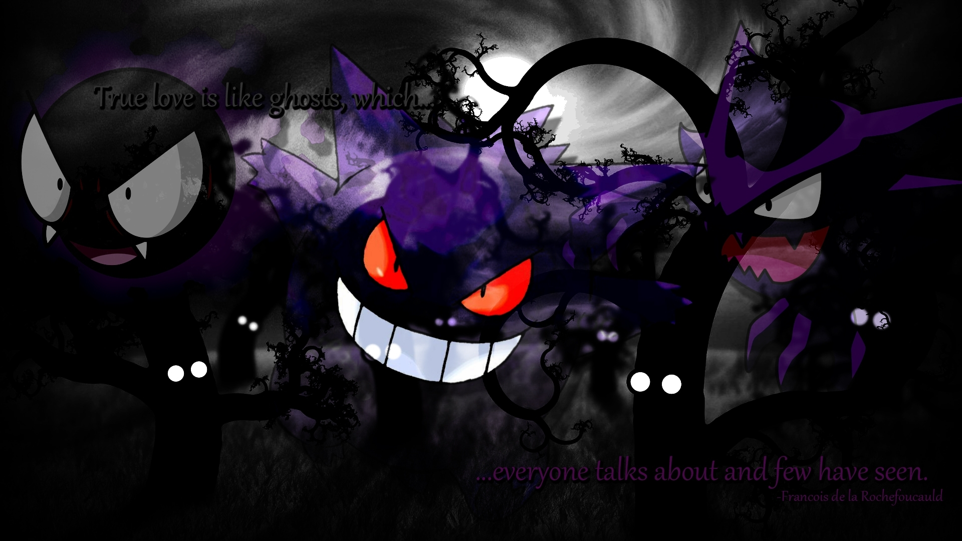 ghost pokemon wallpaper 1920×1080 ghost pokemon wallpaper (30
