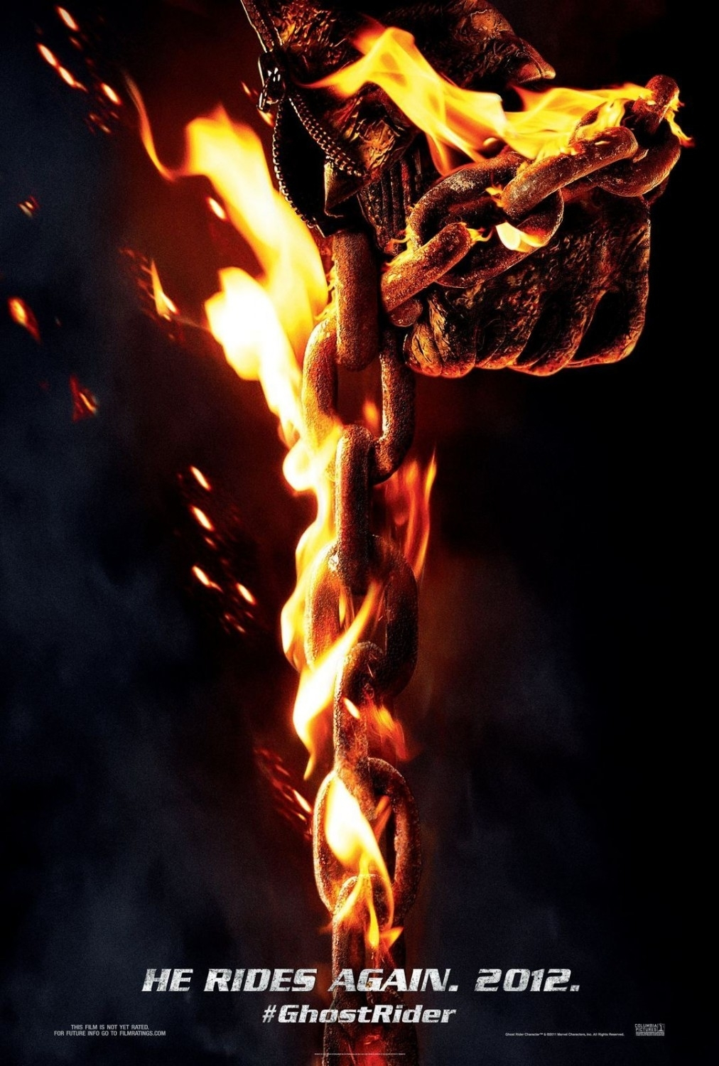 ghost rider 3 news from nicolas cage; says it's possible 'but it won
