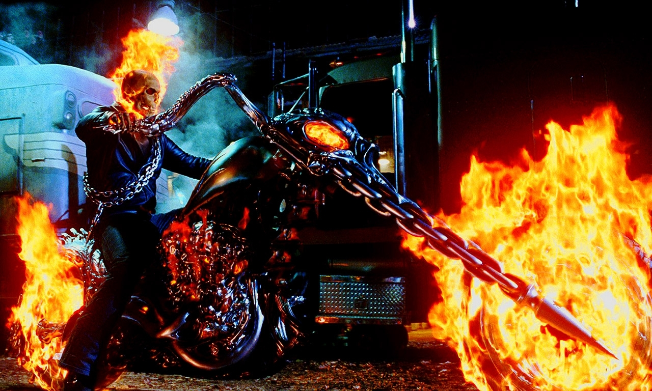 ghost rider - side viewhdavispi on deviantart