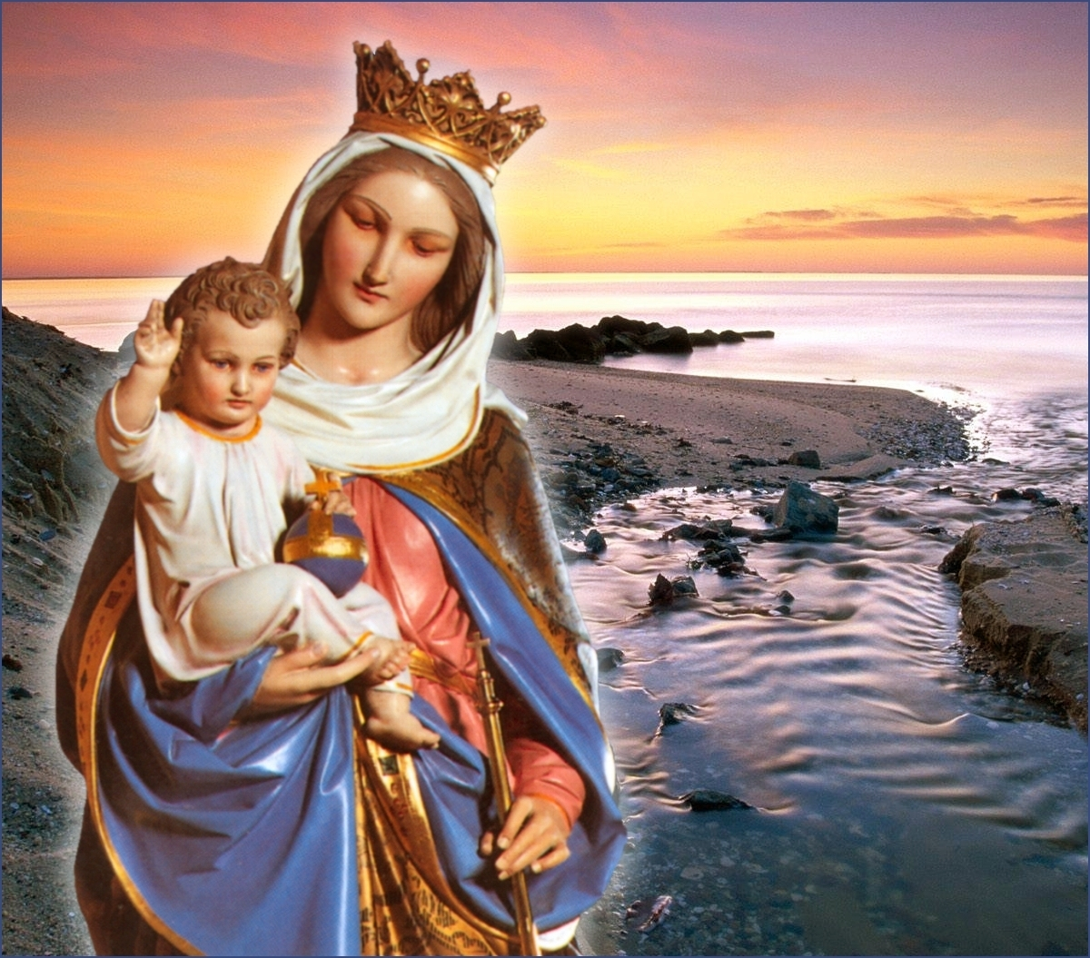 glory be to jesus and mary