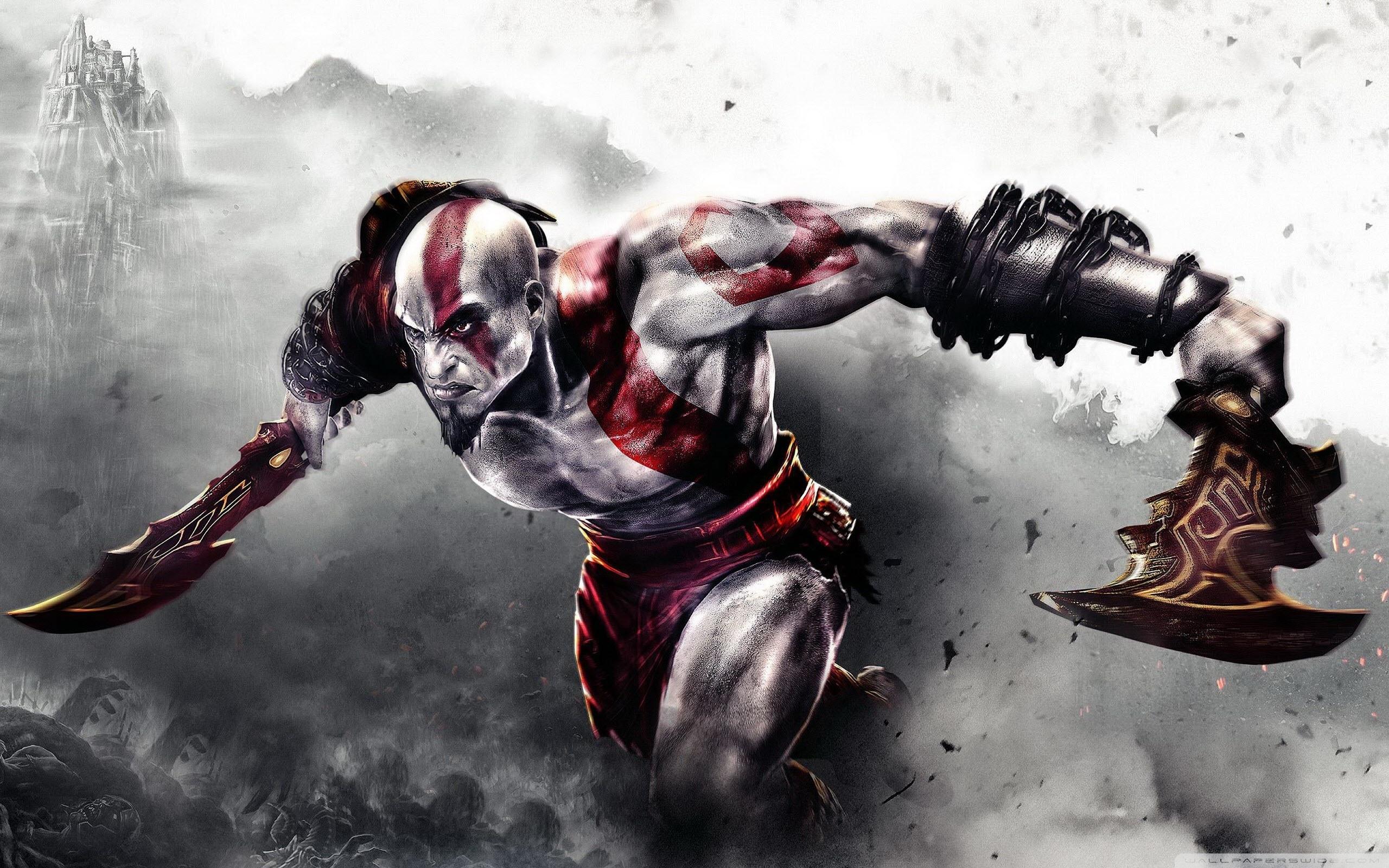 god of war 3 ❤ 4k hd desktop wallpaper for 4k ultra hd tv • wide