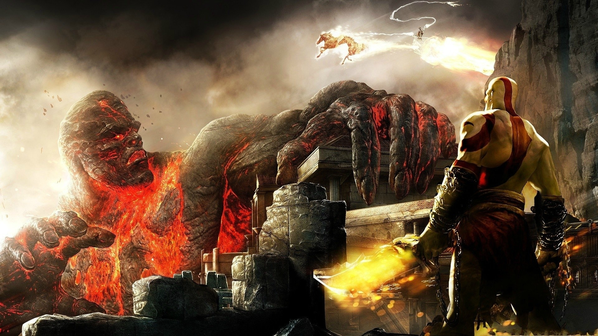 god of war iii full hd fond d'écran and arrière-plan | 1920x1080