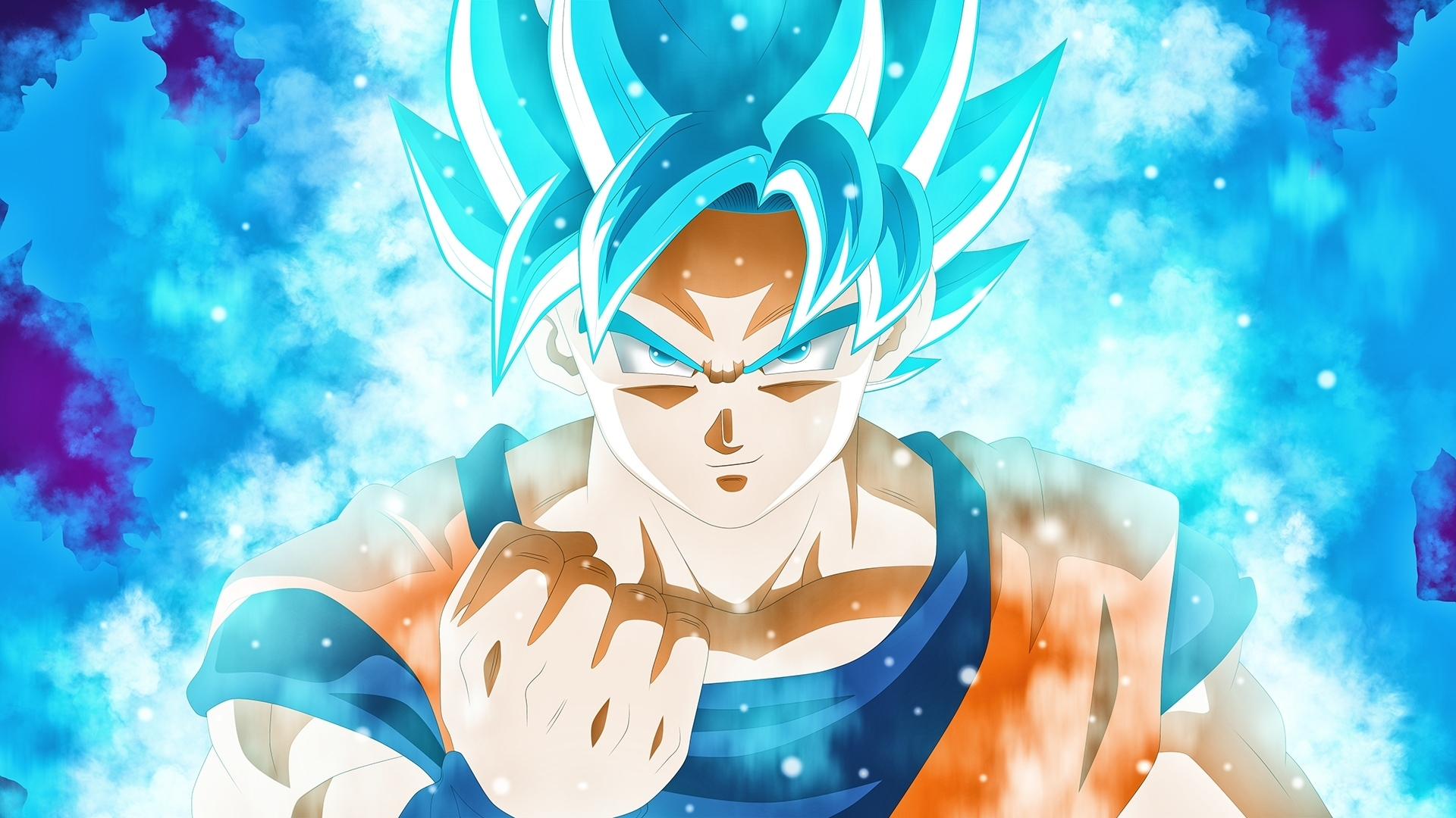 goku super saiyan blue dbs anime wallpaper #48336