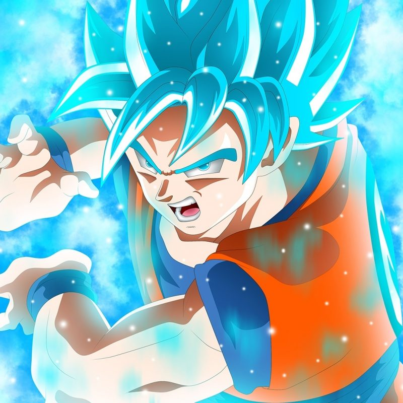 10 Best Goku Super Saiyan Blue Wallpaper Hd FULL HD 1920×1080 For PC Background 2018 free download goku super saiyan blue dbs anime wallpaper 48366 800x800