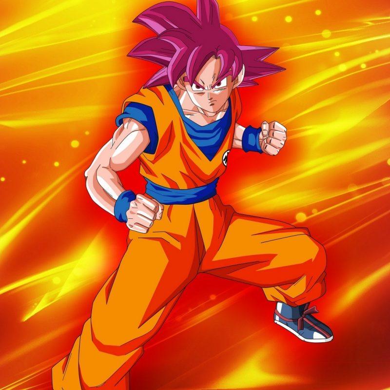 10 Best Goku Super Saiyan God Wallpaper Hd FULL HD 1080p For PC Background 2018 free download goku super saiyan god dragon ball su wallpaper 5621 1 800x800