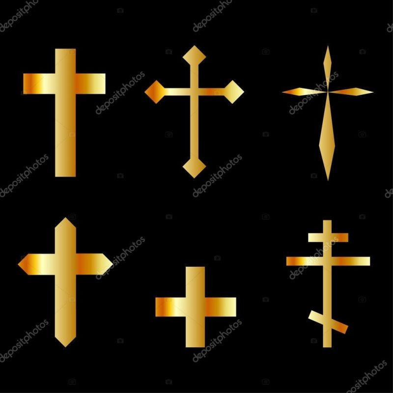 10 Most Popular Pictures Of Crosses To Download FULL HD 1080p For PC Desktop 2020 free download golden christian crosses in different designs stock vector 800x800