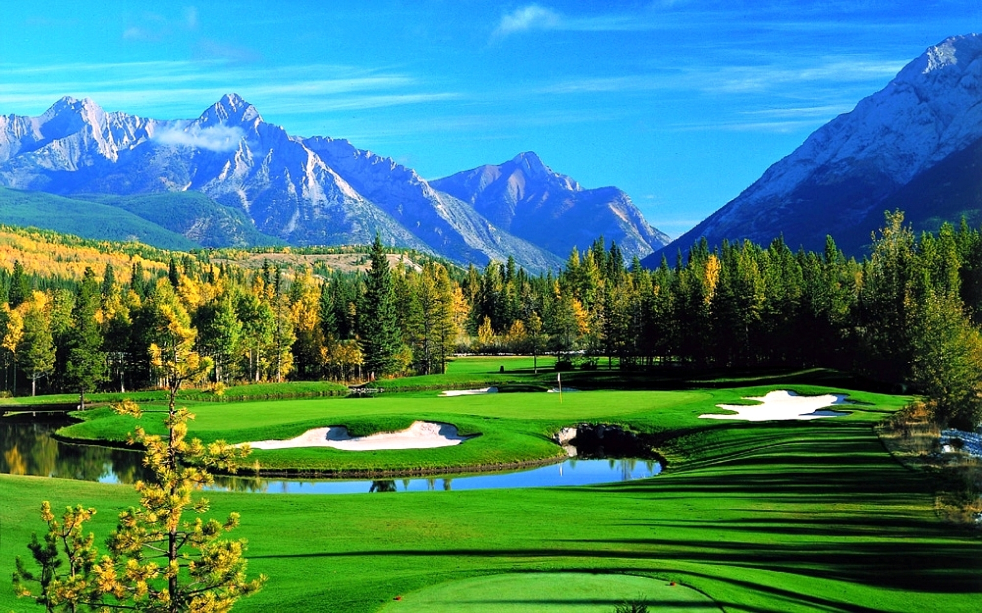 golf course backgrounds group (72+)
