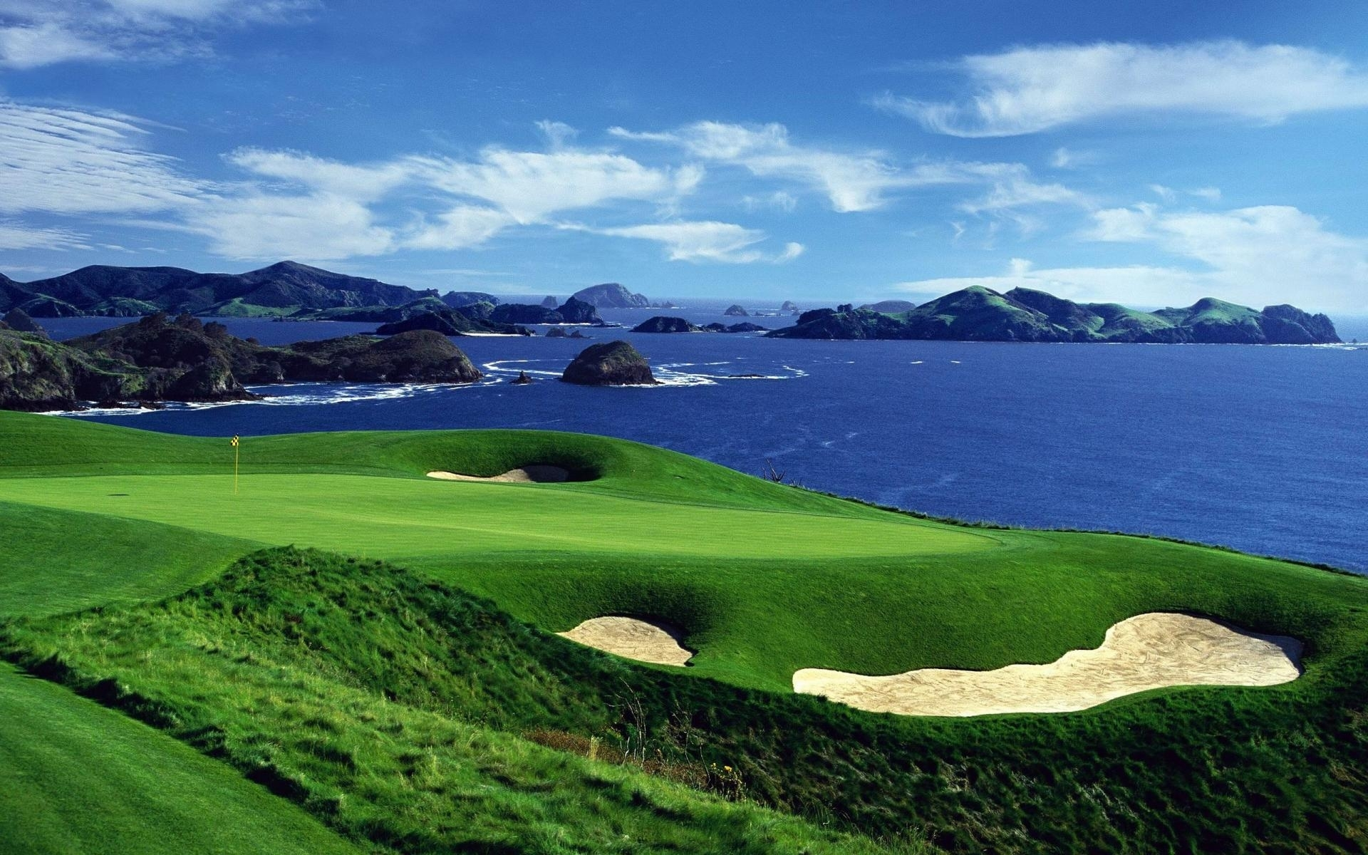 golf course desktop wallpaper - wallpaper bits