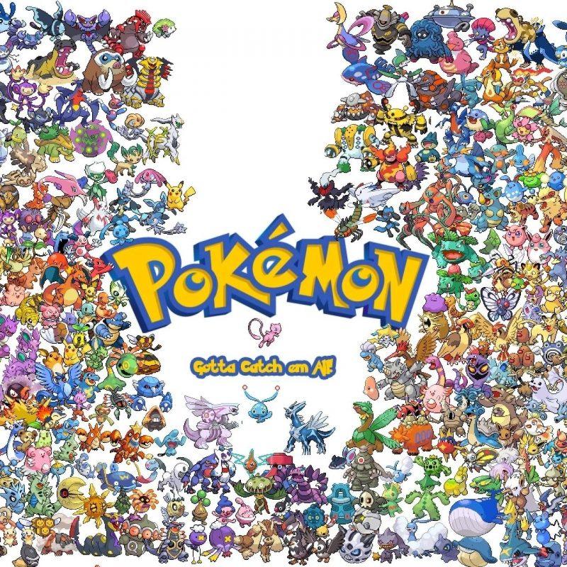 10 Most Popular Pokemon Wallpaper All Pokemon FULL HD 1080p For PC Desktop 2018 free download gotta catch them all pokemon wallpaper 800x800