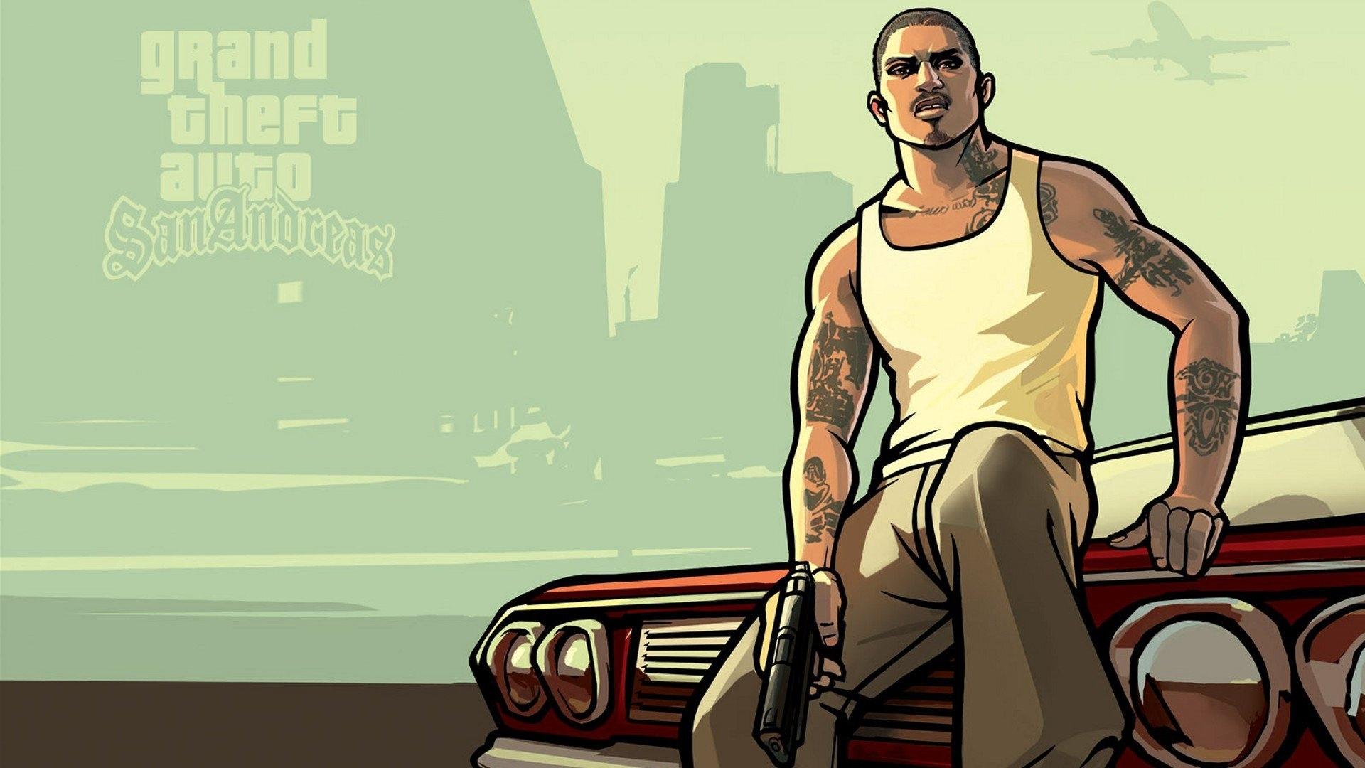 grand theft auto: san andreas full hd fond d'écran and arrière-plan