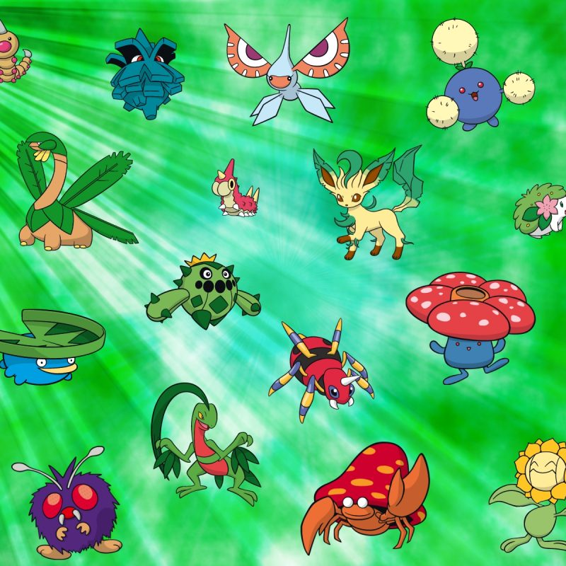 10 Top Pokemon Grass Type Wallpaper FULL HD 1920×1080 For PC Desktop 2020 free download grass type pokemon wallpaper with different grass and bug type 800x800
