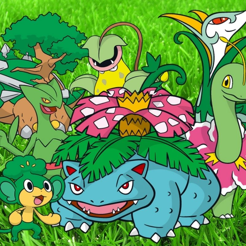 10 Most Popular Grass Type Pokemon Wallpaper FULL HD 1920×1080 For PC Background 2018 free download grass type wallpaperreshiramaster on deviantart 800x800
