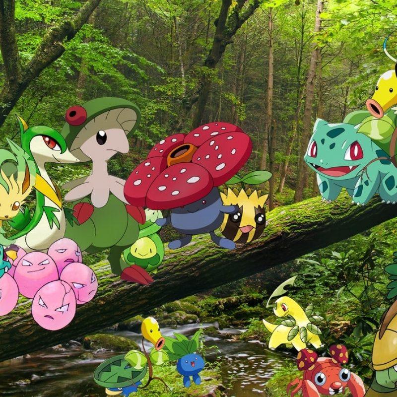 10 Top Pokemon Grass Type Wallpaper FULL HD 1920×1080 For PC Desktop 2018 free download grass pokemon wallpaperkyoshian on deviantart 1 800x800