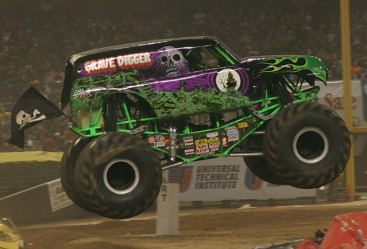 grave digger (monster truck) - wikipedia