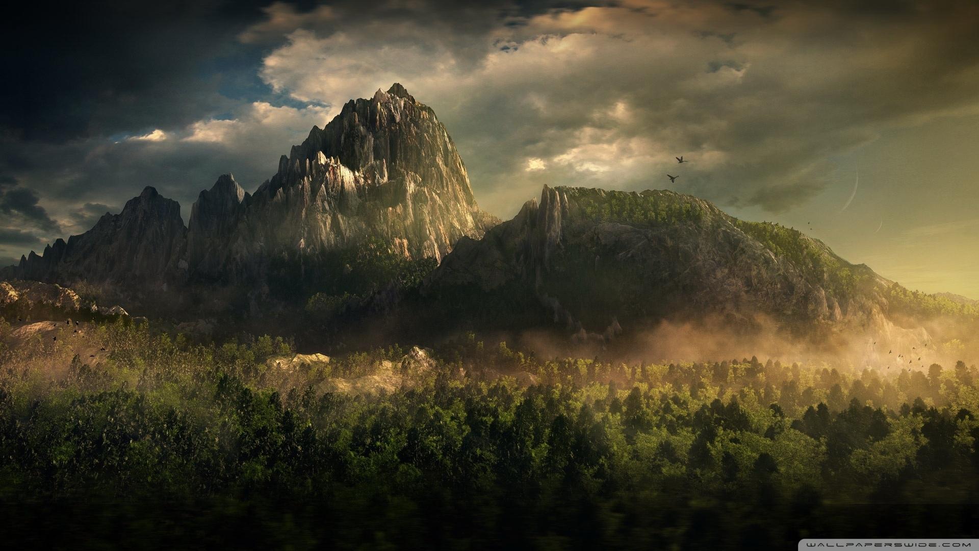 great mountain landscape ❤ 4k hd desktop wallpaper for 4k ultra hd