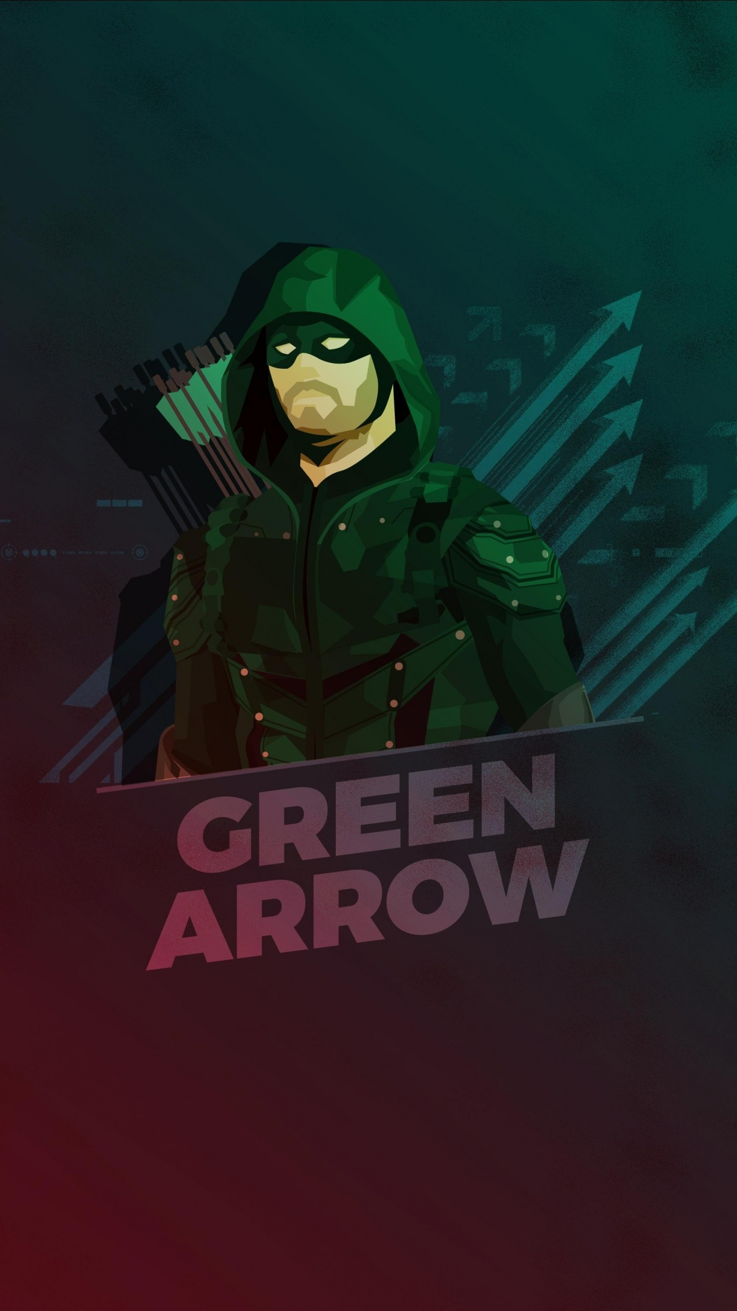 green arrow minimal artwork hd wallpapers | hd wallpapers | id #21399