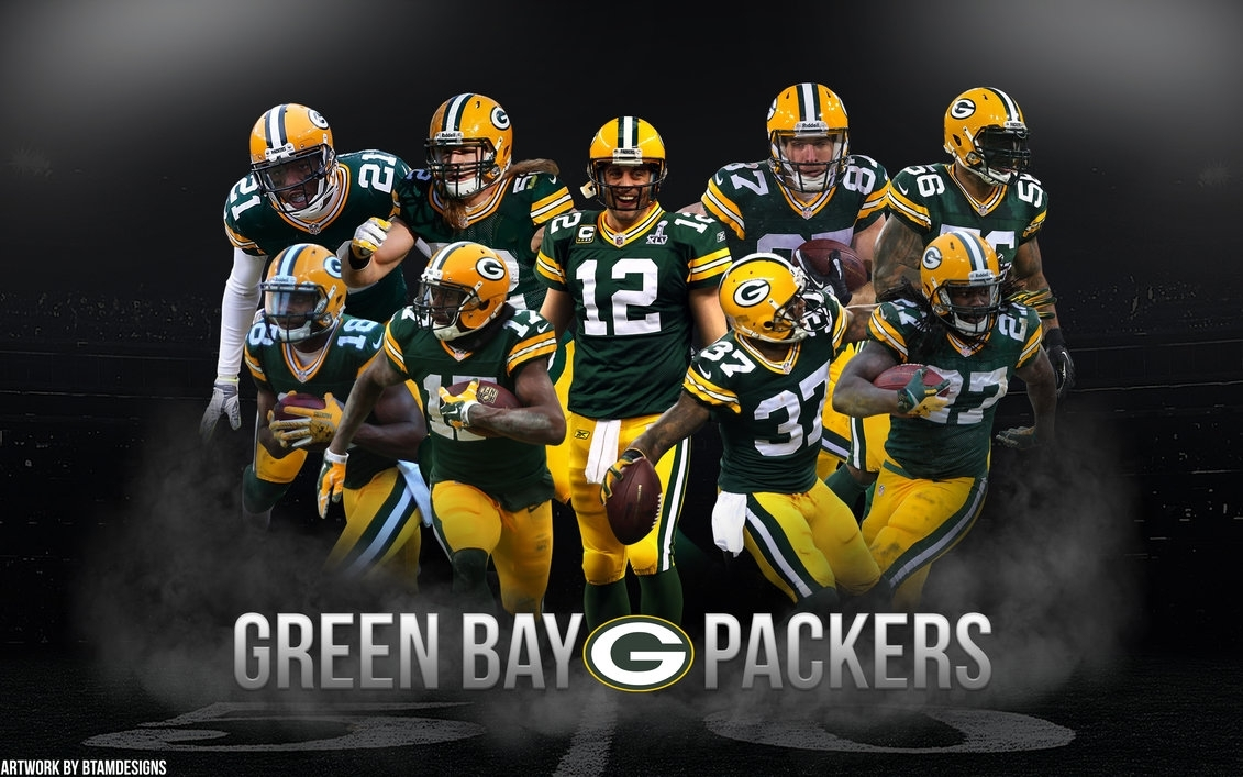 green bay packers team wallpaperbtamdesigns on deviantart